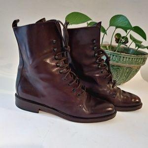 Joan & David Lace Up Boots